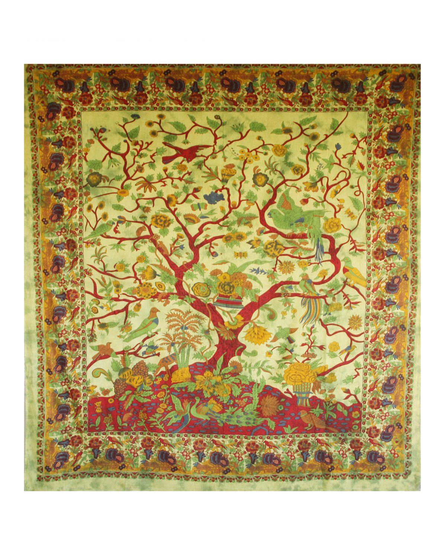 Amazon.com: Jungle Scenery Green Tapestry: Home & Kitchen