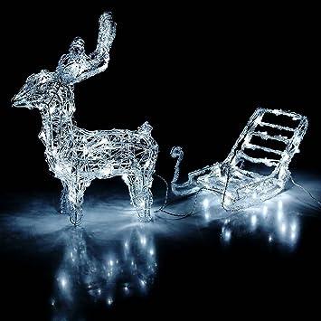 Rentier leuchtende weihnachtsdeko