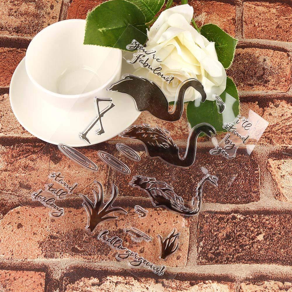 DIPOLA DIY Plantilla para Troqueles de Corte de de Letra Inglesa de Papel Decorativas y Butterfly Flower Embossing Template Scrapbooking Decor Roqueles para ...