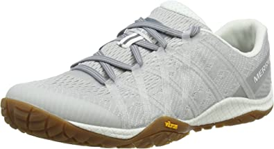 Merrell Trail Glove 4 E-Mesh, Zapatillas de Running para Asfalto para Mujer, Gris (Vapor), 42.5 EU: Amazon.es: Zapatos y complementos