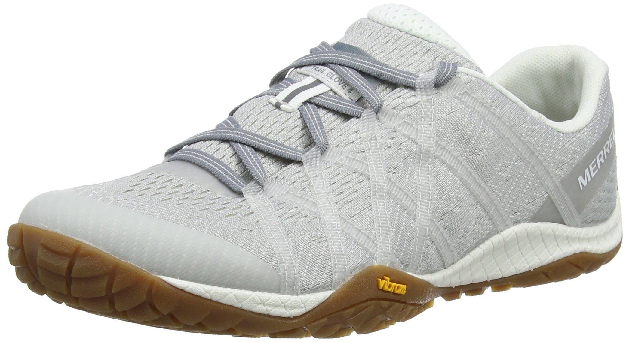 Merrell Women's Trail Glove 4 E-Mesh Sneaker, Vapor, 7 M US by Merrell