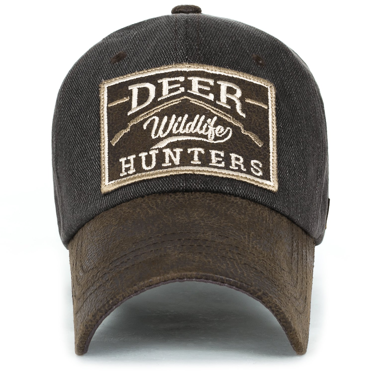 ililily DEER HUNTERS Velcro Patch Tactical Operator Hat