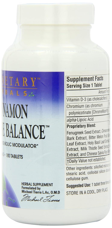 Planetary Herbals Cinnamon Glucose Balance 910mg, Dynamic Metabolic Modulator,180 Tablets