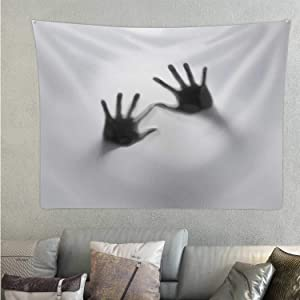 C COABALLA Feared Horror,Wall Tapestry for Bedroom Spooky for Decor 59.1'' x 51.1''(WxH)