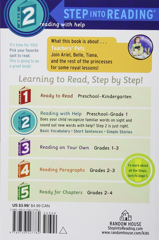 Amazon.com: Teachers' Pets (Disney Princess) (Step into Reading)  (9780736427784): Mary Man-Kong, Elisa Marrucchi: Books