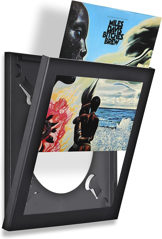 Bianco Acrilico Easy Change Frame Show /& Listen Frame Cornice per Lp con Apertura Frontale Basculante 32x32x3 cm