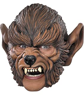 César G934-001 - Máscara de hombre lobo para disfraz