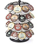 NIFTY 40 Capacity Carousel in Black. Smooth Spinning K-Cup Holder