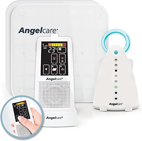 Angel Care Nivel y detector de movimiento ac701 de D, color blanco ...