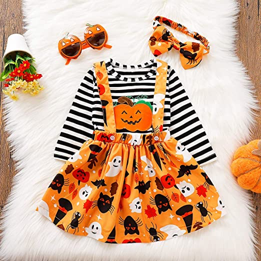 Toddler Girls Halloween Outfit