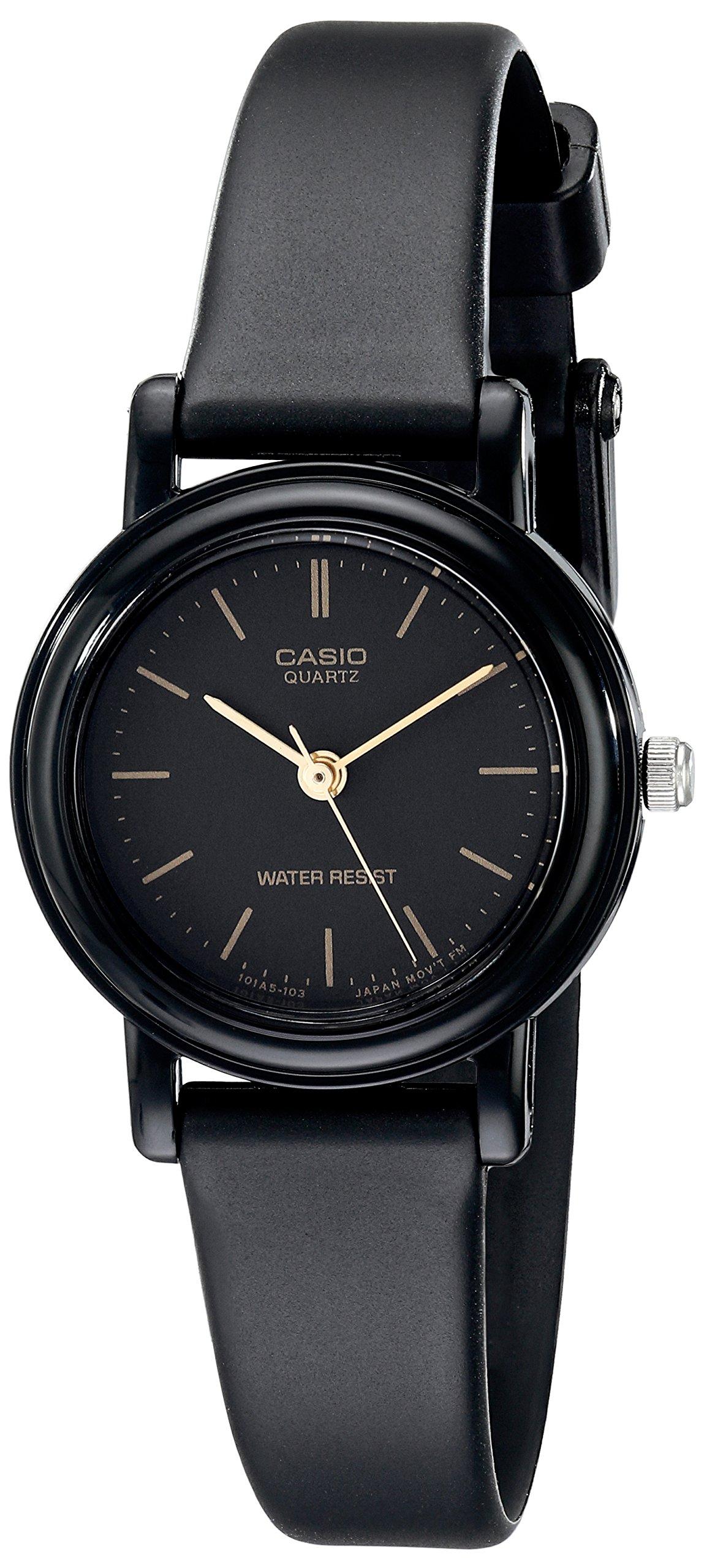Casio Women's LQ139A-1E Classic Round Analog Watch