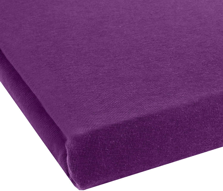 /S/ábana bajera ajustable 100/% algod/ón para cama infantil colchones Certificado Oeko-Tex 2/Pack de ahorro Ni/ños/ tela 70 x 140 cm T/ürkis // Ocean en muchos colores