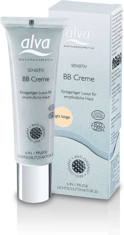 Alva - BB Cream piel sensible light beige Alva, 30ml