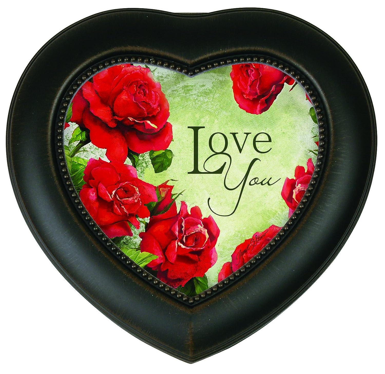 おすすめネット Carsonホームアクセント音楽ボックスハート、Love B016OZ2D1S You You B016OZ2D1S, ベジフルプラザ:6d74db72 --- arcego.dominiotemporario.com
