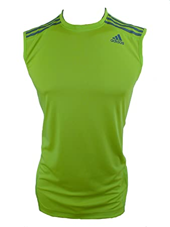 Adidas Mens Basketball Climacool Sleeveless Vest O22442 White Black