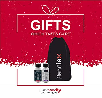 Christmas Gift Pack Nano Cristal hendlex | cristal repelente al agua 50 ml + cristal concentrado