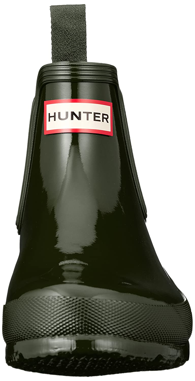 Hunter Women's Original Chelsea High-Top Rubber Rain Boot B07B6JXGBF 10 B(M) US|Dark Olive