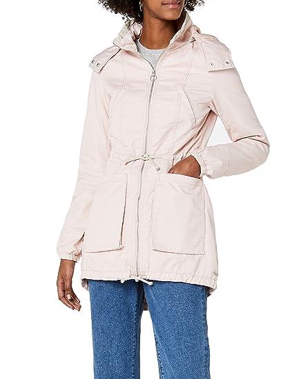 ONLY Women s Onlnew Olga Spring Parka Coat OTW Noos Green  Amazon.co ... 5bc6c7c81281