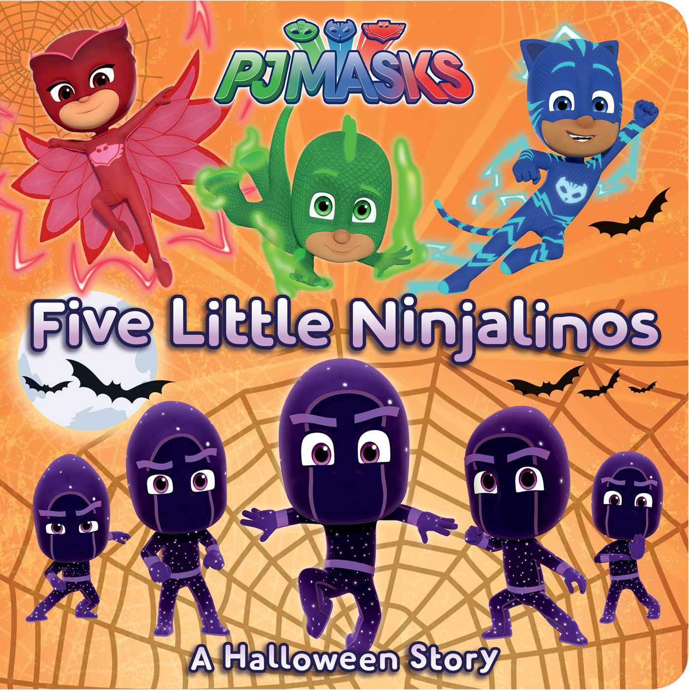 Amazon.com: Five Little Ninjalinos: A Halloween Story (PJ Masks) (9781534417830): Tina Gallo, Jason Fruchter: Books