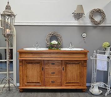 País & Amor de Muebles de baño GmbH Kingston: rústico de Lavabo,