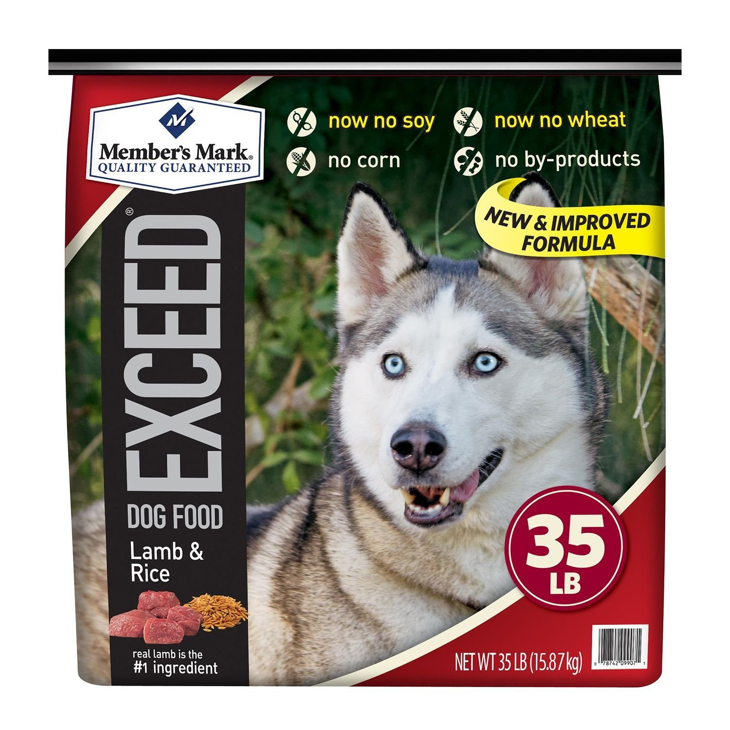 Member's Mark Exceed Dog Food, Chicken & Rice (35 lbs.)