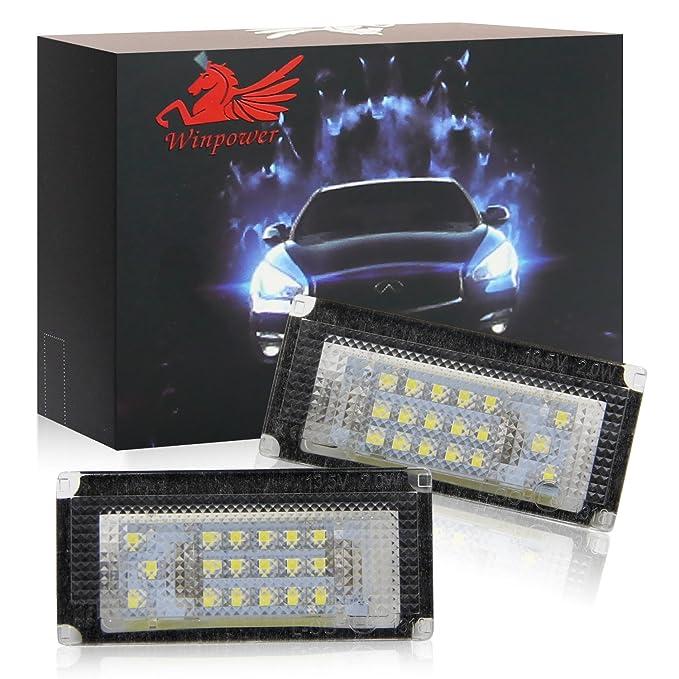 2 x LED Kennzeichenbeleuchtung Mini Cooper R50 R52 R53 Kennzeichen Leuchte