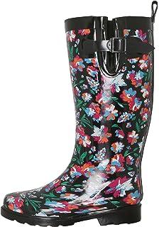 6e9664bbc7466 Capelli New York Ladies Tall Cozy Lined Rain Boots