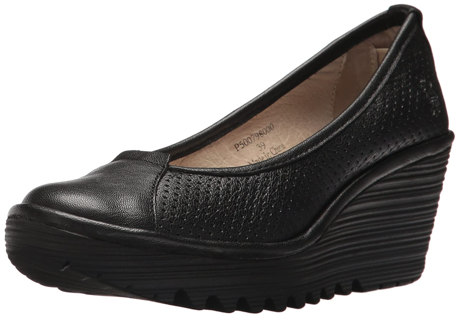 FLY London Women's Yuzi798fly Pump B071HTJ34G 37 M EU (6.5-7 US)|Black Mousse