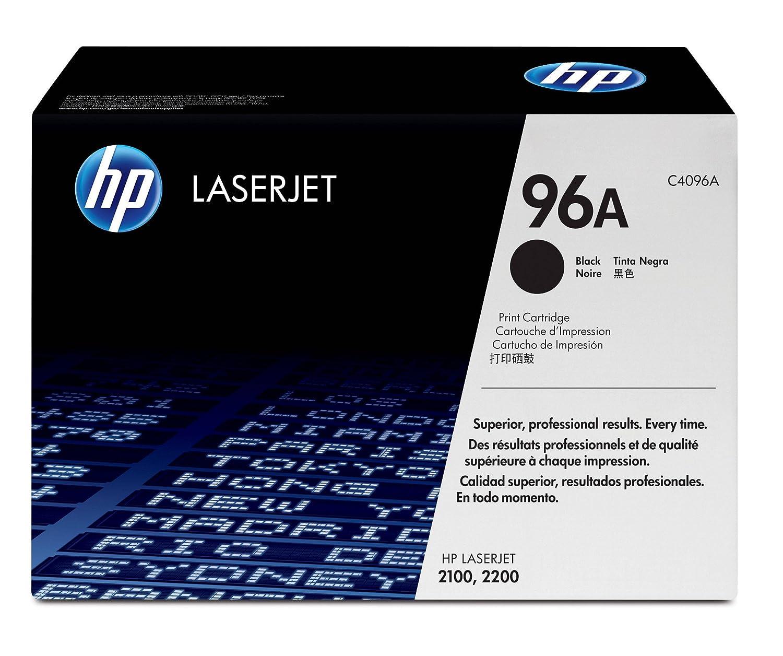 HP 96A (C4096A) Black Original LaserJet Toner Cartridge DISCONTINUED BY MANUFACTURER