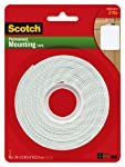 Scotch(R) Heavy Duty Mounting Tape, 1 Inch x 125 Inches