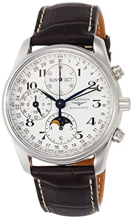 9ba0270f7f8 Amazon.com  Longines Men s Watches Master Collection L2.673.4.78.3 ...