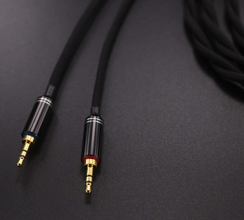 GDK-1 HiFi Cable Replacement Cable for Hifiman HE400S HE1000 V2 Headphone. HE-400I HE-350 HE560 HE1000