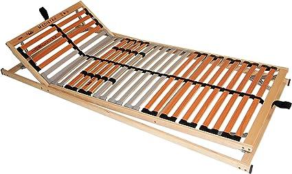 SOMIER somieres montado Ajustable 100 x 210 cm MG: Amazon.es ...