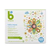 Babyganics Baby Wipes, Fragrance Free, 800 ct, Packaging May Vary