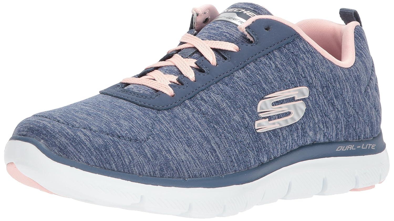 Skechers Flex Appeal 2.0, Zapatillas para Mujer 37.5 EU|Azul (Navy Nvy)