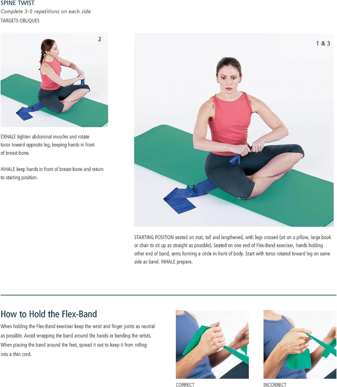 Stott Pilates Flex Banda el/ástica para ejercicio