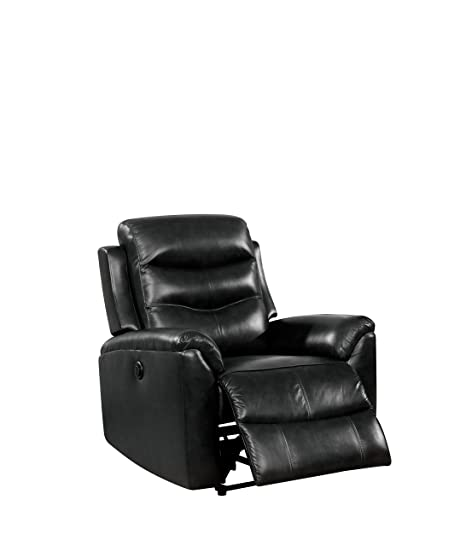 Amazon.com: Acme Muebles Ava Power Sillón Reclinable, Cuero ...