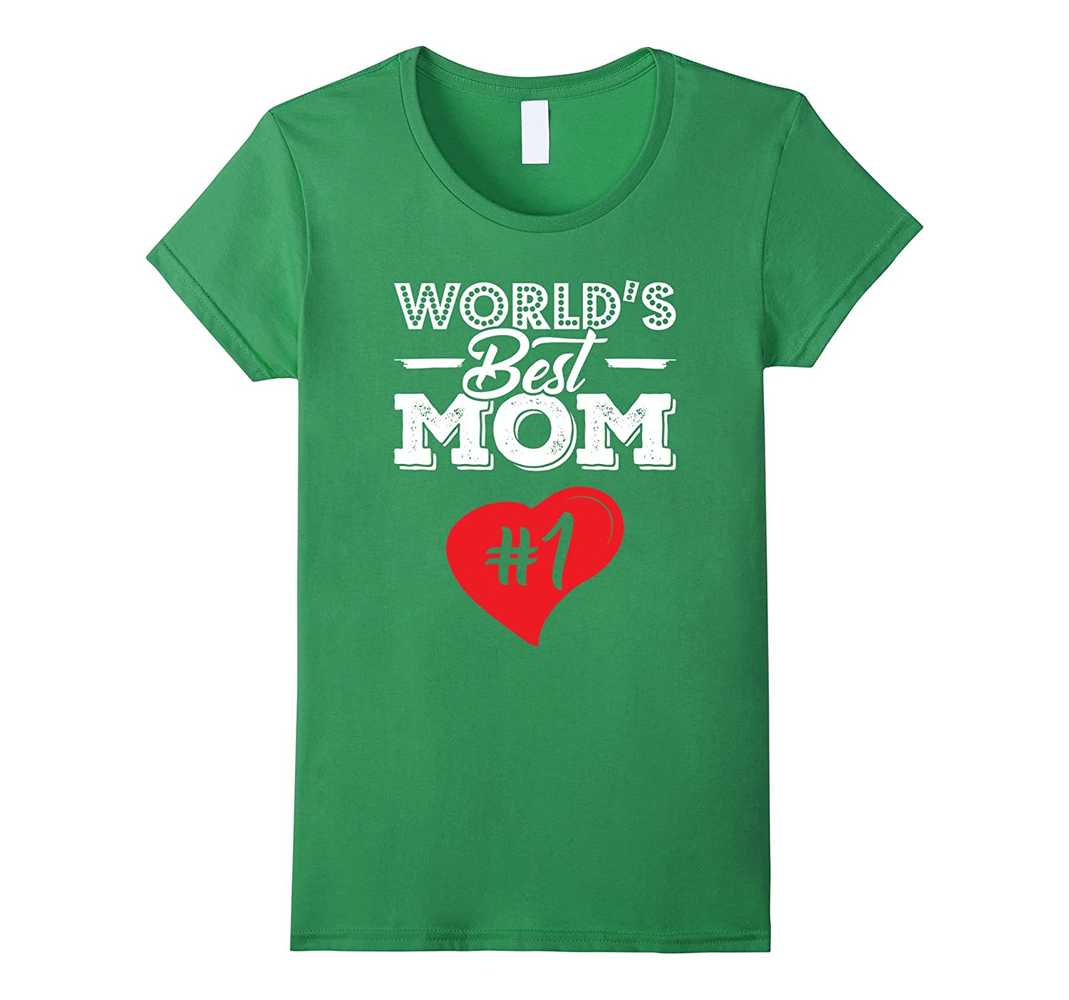 World's Best Mom for Mothers Day tee shirts-BN