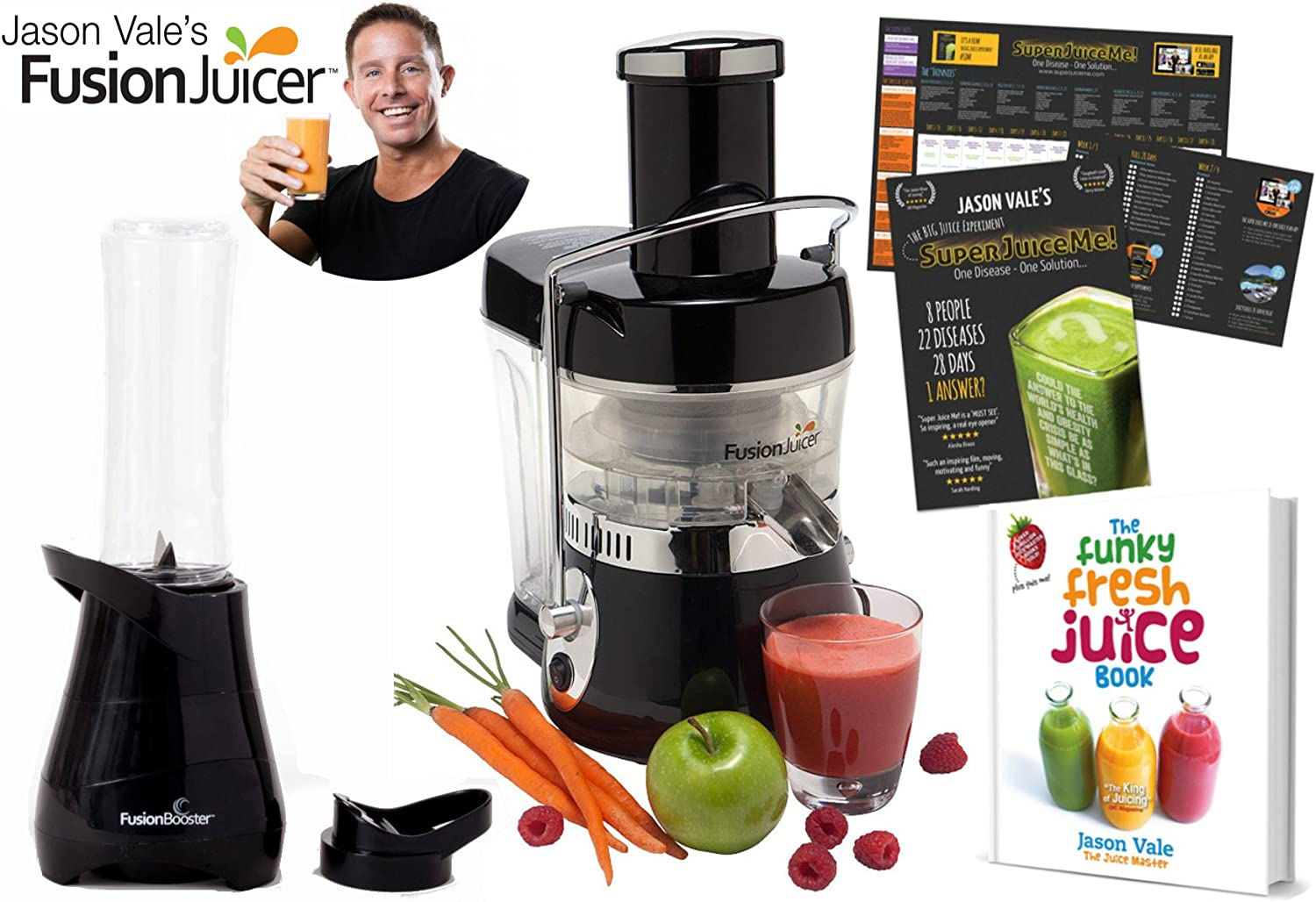 Jason Vale Fusion Juicer and Book