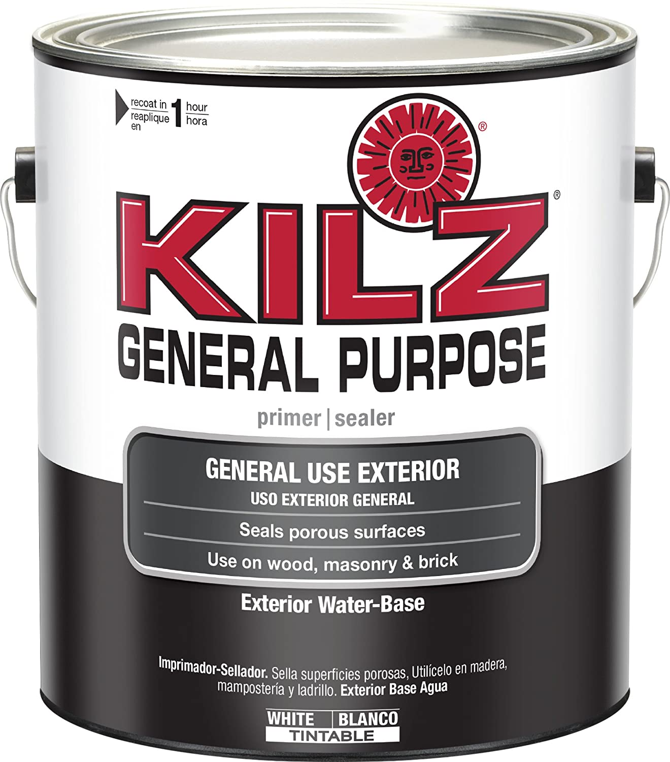 Amazon.com: KILZ General Purpose Exterior Latex Primer/Sealer, White, 1  Gallon: Home Improvement Part 14