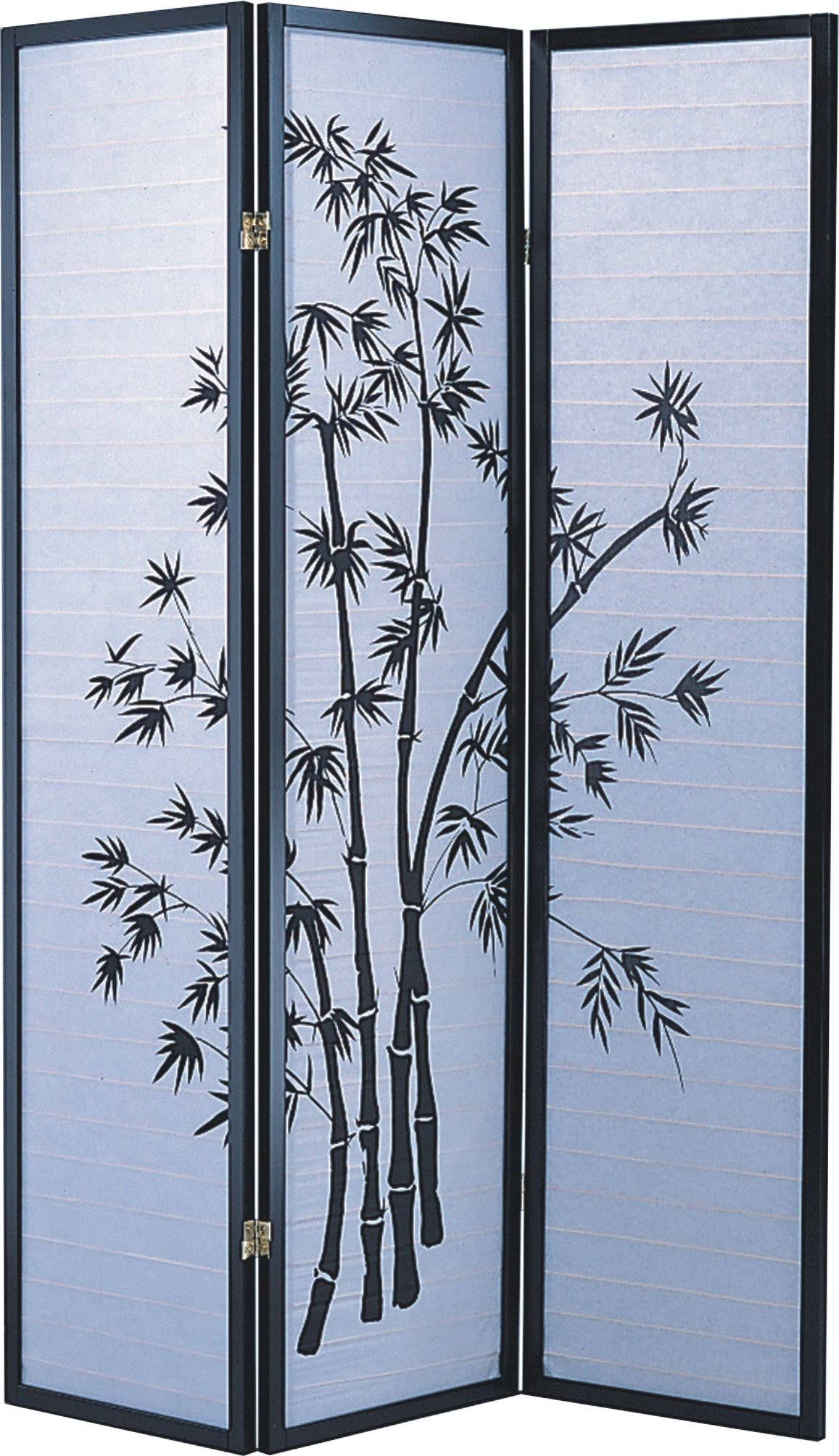 Major-Q 7034PR-3-PANELS Decoration Japanese Oriental Style Room Screen Divider