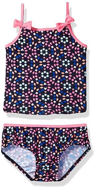 2f8b765780 Amazon.com  Osh Kosh Baby Girls  Dot Floral Tankini Swimsuit Set ...