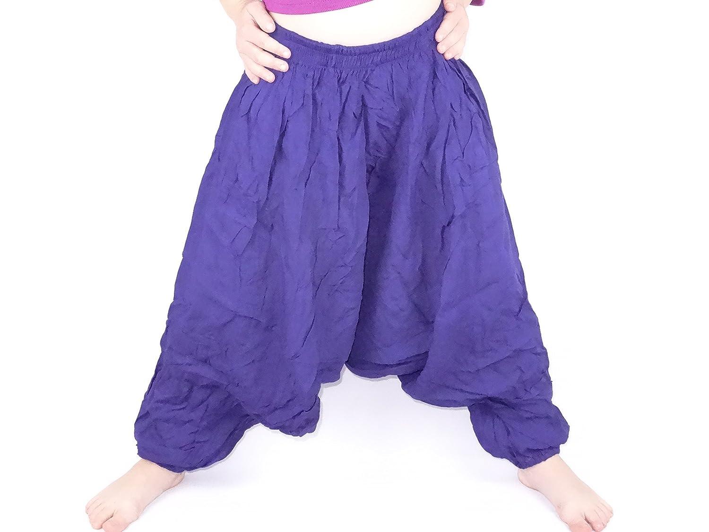 new concept ce0c6 16076 Sarouel 2 años 3-Pantalón infantil, diseño étnico Harem pant children niña  para