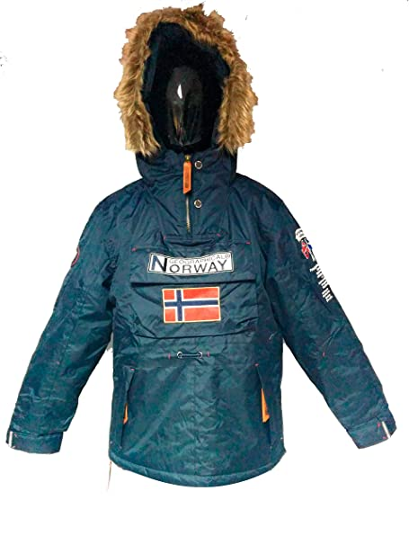 gran venta 7a6b9 3bc93 Geographical Norway Anorack niño Bomber: Amazon.es: Ropa y ...