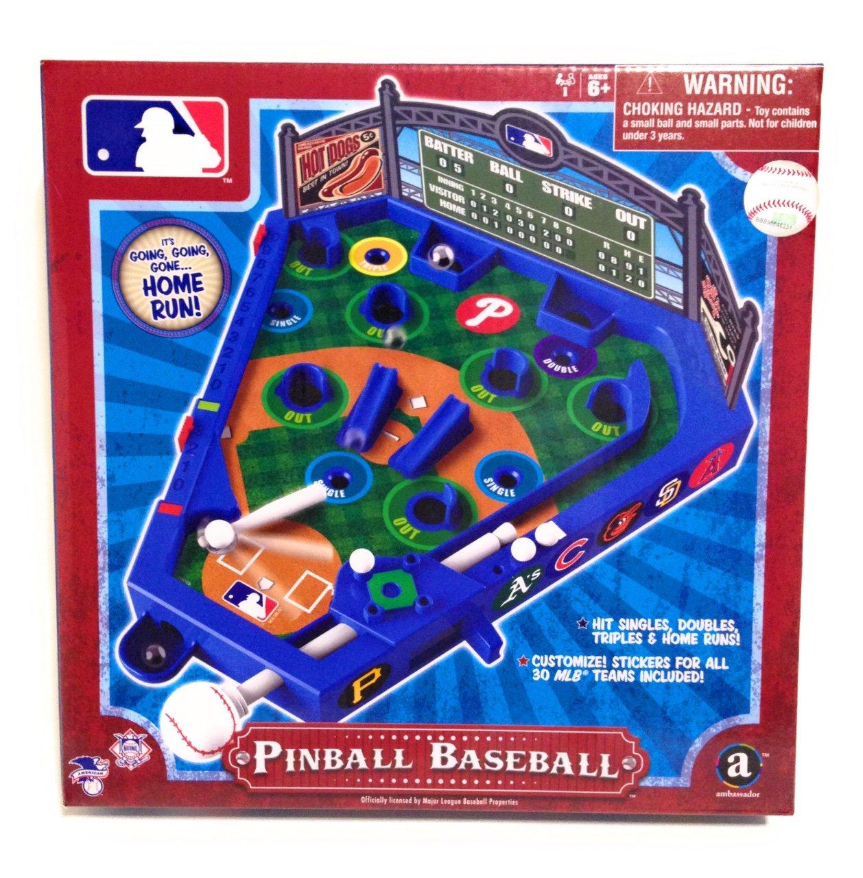 Amazoncom Homeware Classic Wood Pinball Style Baseball Game Toys