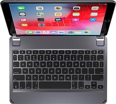 Teclado inalámbrico Brydge 10.5, Compatible con iPad Air de 3ª generación y iPad Pro de 10,5 Pulgadas Distribución QWERTY en inglés
