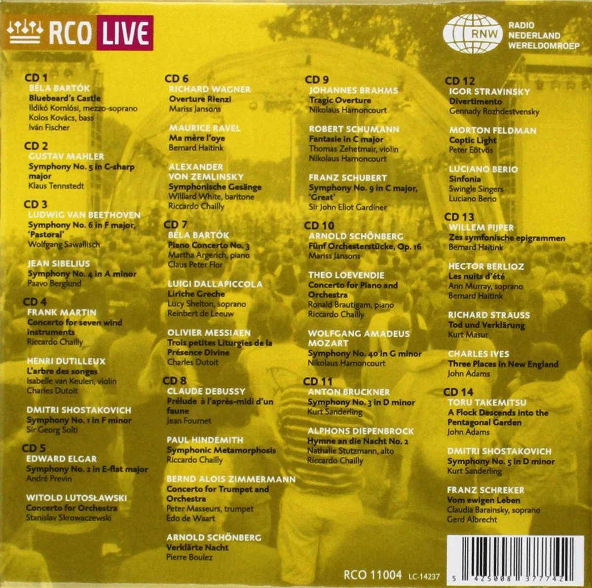 Royal Concertgebouw Orchestra: Anthology Live 1990-2000 by RCO