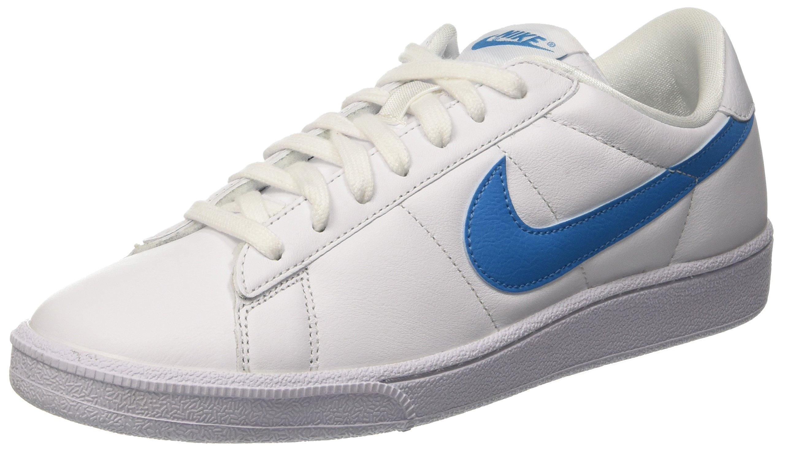nike uomini tennis classico caviglia alta moda scarpe camoscio bianco 10
