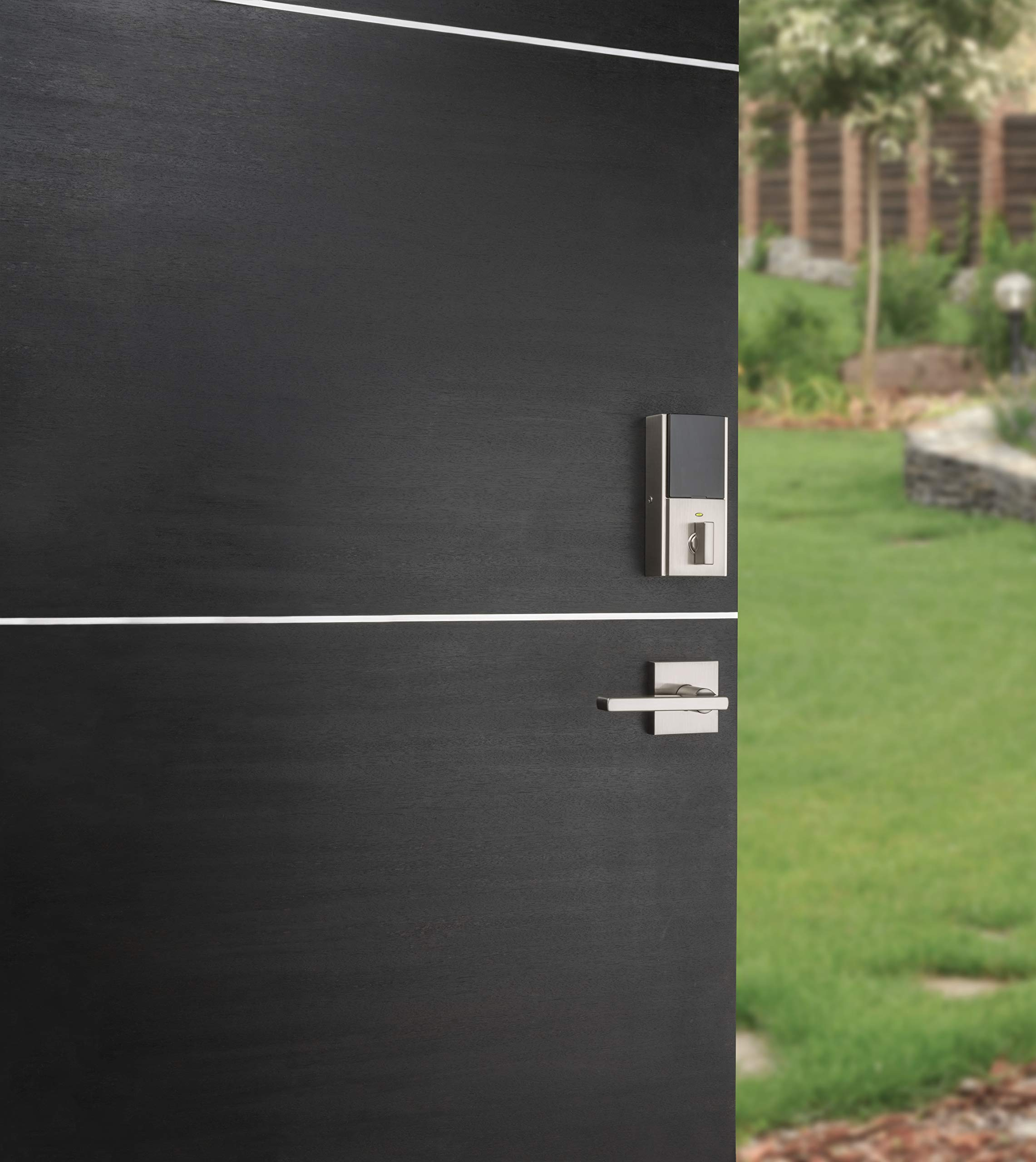 Kwikset 99250-206 Kevo 2nd Gen Contemporary Square Single Cylinder Touch-to-Open Bluetooth Deadbolt Satin Nickel by Kwikset (Image #7)