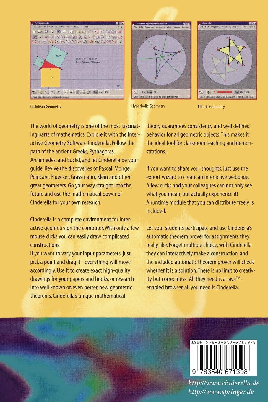 User Manual for the Interactive Geometry Software Cinderella: Amazon.de:  Jürgen Richter-Gebert: Fremdsprachige Bücher